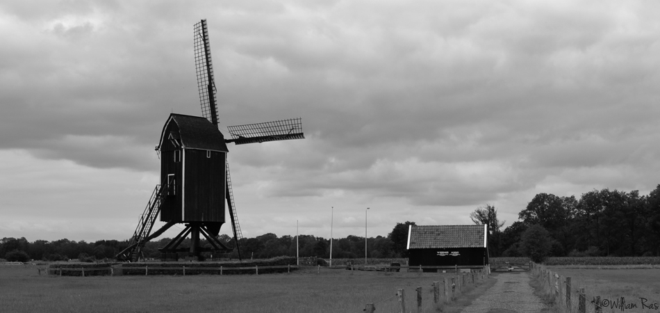 """ The windmill Wissink's Möl in Usselo, a small village near Enschede """